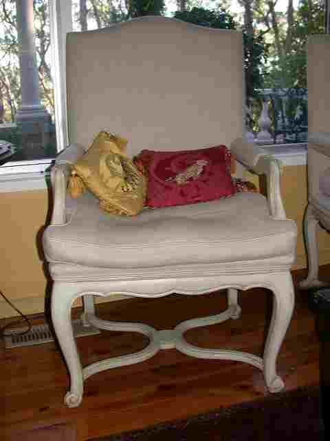 French Provincial Country Farmhouse Furniture Table Chair