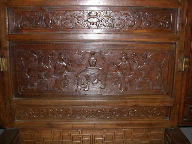 Chinese Screen - oriental antiques