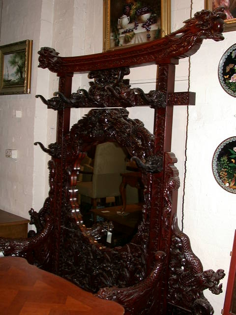 Antique Japanese Hall Stand