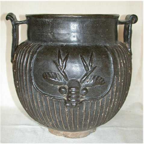 Chinese Bronze Incense burner or Jardiniere