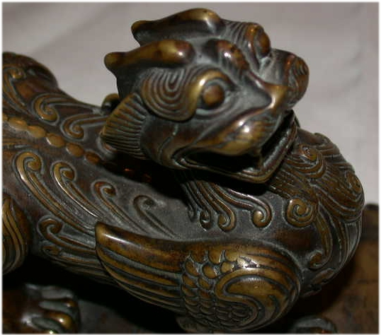 bronze paperweight - Chinese antique furniture