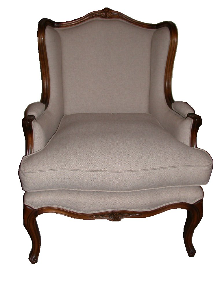 French Wingback Chair - French Provincial Furniture - Sydney, Australia