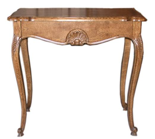 Louis Hall Table in Oak - French Provincial  Furniture